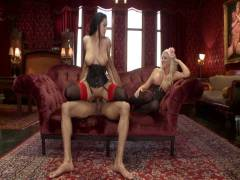 The Upper Floor: Alpha Coitus in ano Slave Teaches Her Bitch To Service Hard Rod