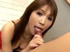 Ai Kurosawa as each good female student works for degree with pussy